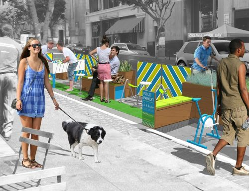Study: Downtown L.A. Parklets Improve Community, Quality of Life