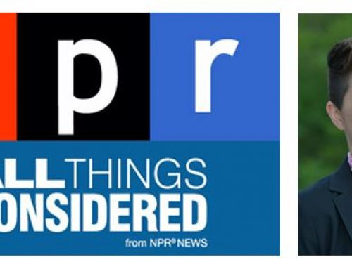 Lewis Center Researcher Herbie Huff On NPR's All Things Considered