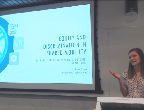 Equity and discrimination in shared mobility – Anne Brown