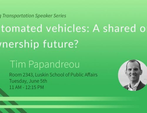 Automated vehicles: A shared or ownership future? – Tim Papandreou