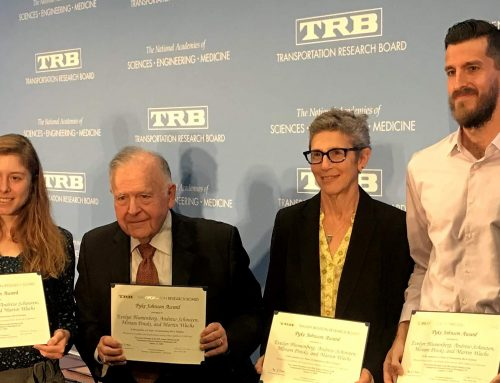 UCLA ITS faculty, students win prestigious transportation award for 3rd time