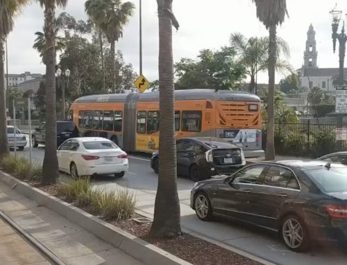 TRB award highlights LA bus-only lane pilot